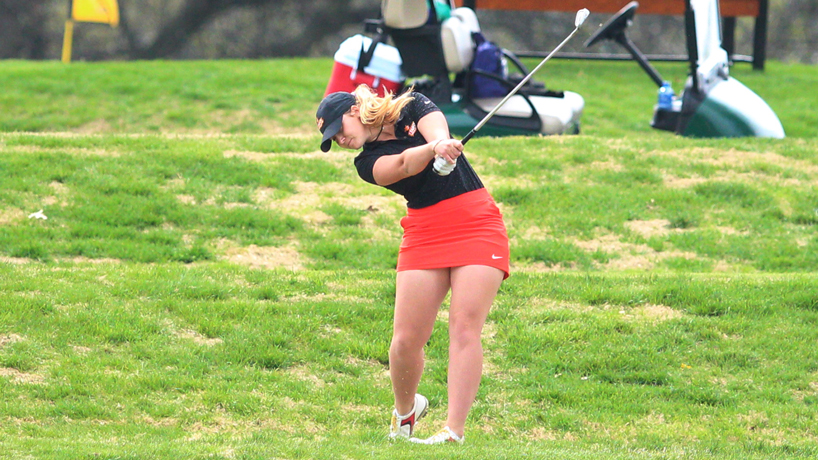 Ares Boira, member of UMSL women's golf team