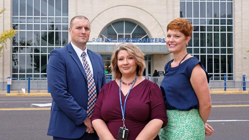 Criminology alumni making impact in civilian roles in St. Louis Metropolitan Police Department