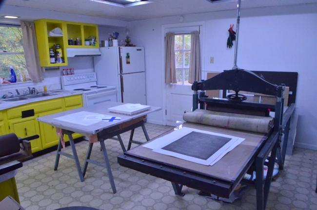 Print shop at Paul Artspace