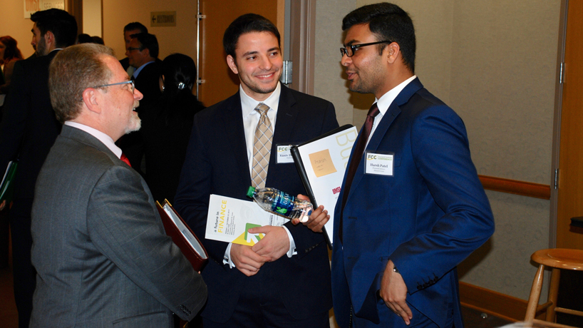 Students organize first Finance Career Conference to bridge industry, academia