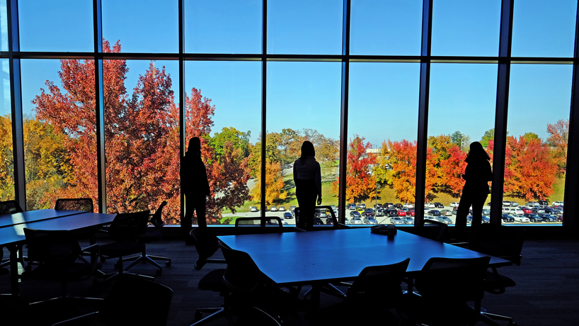 Eye on UMSL: Colorful view