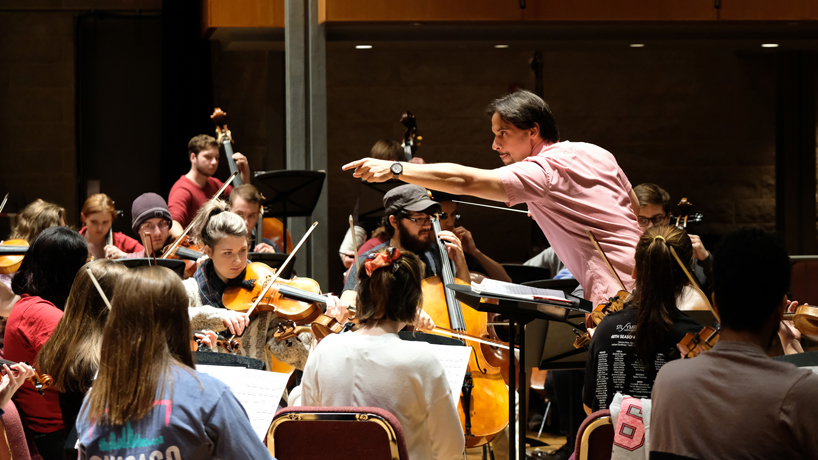 New UMSL conductor Darwin Aquino and student musicians anticipate debut performance