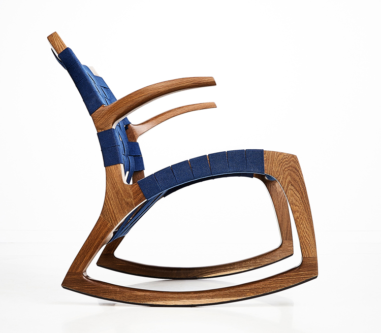 Luna Rocker by Goebel & Furniture