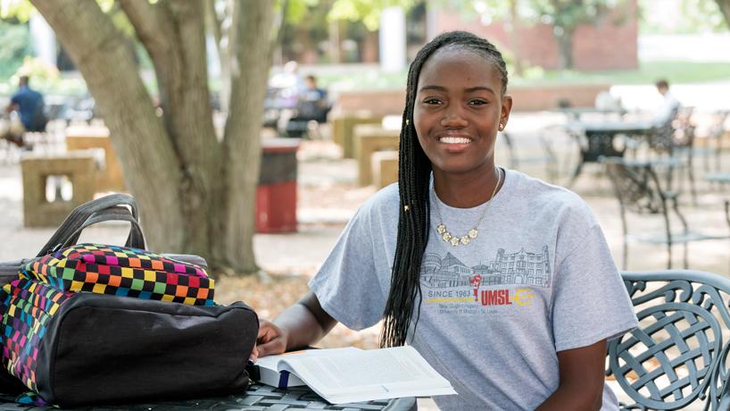 Felesha Clarke, scholarship recipient