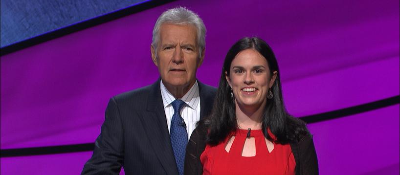 Mary Grace Buckley on Jeopardy