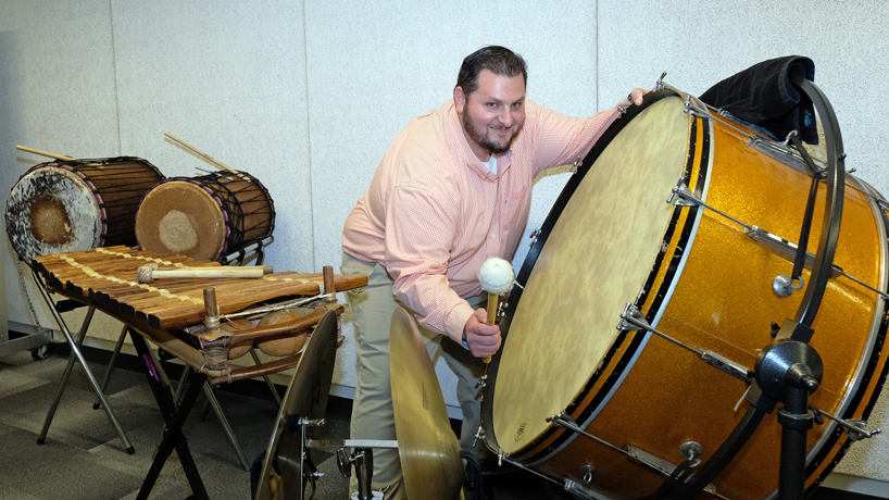 Music education degree is dream come true for nontraditional student Odell Jackson