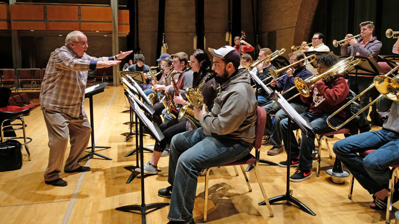 UMSL Jazz Ensemble selected to perform with industry icons in Chicago and Dallas this winter