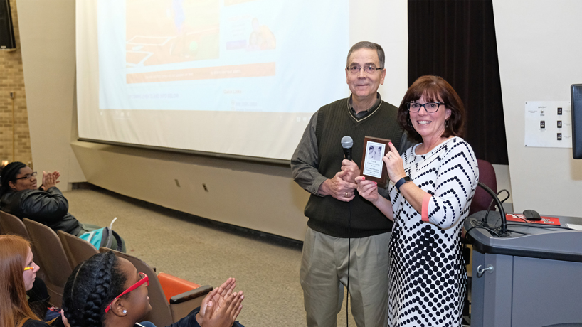 College of Education honored for student community service