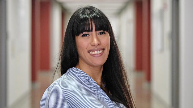 Estefania Fernandez Barrancos hopes studies at UMSL prepare her for work restoring Amazon rainforests