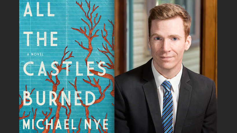 UMSL alumnus Michael Nye and his debut novel
