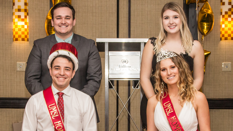 2018 homecoming king and queen talk UMSL pride, rewarding student journeys