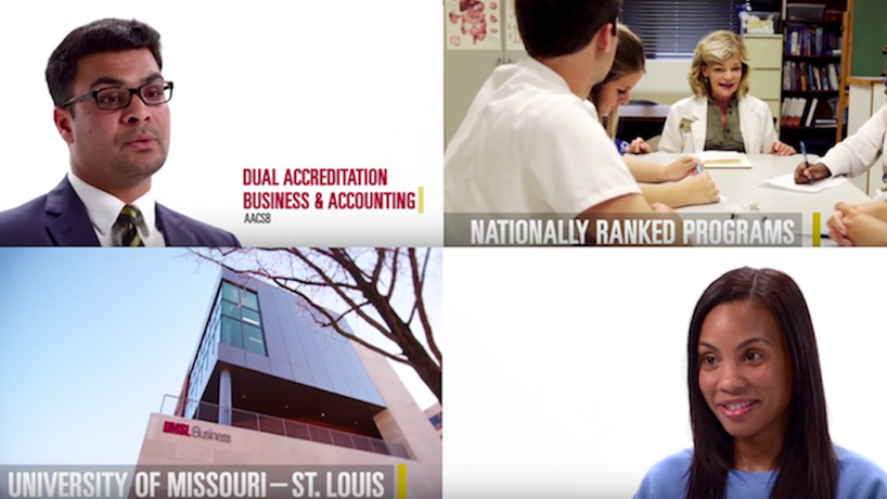 New UMSL marketing campaign highlights nursing, business