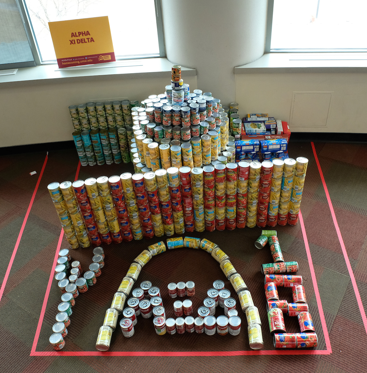 Alpha Xi Delta CANstruction