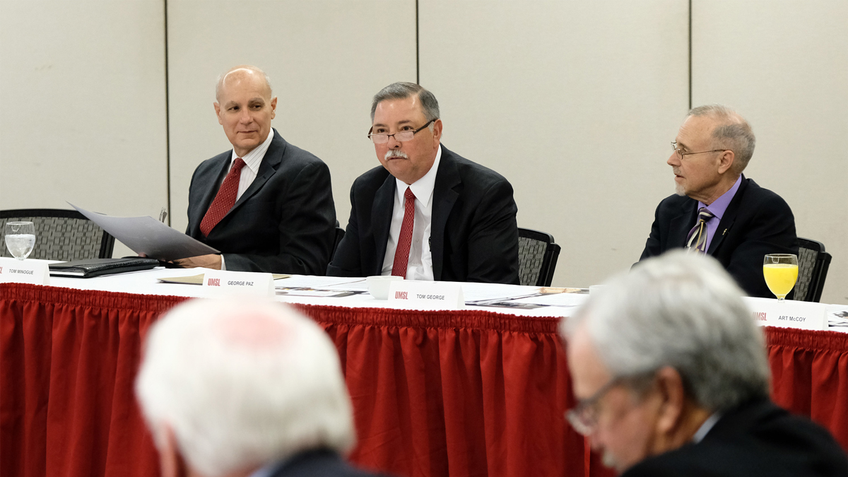 Express Scripts Chairman George Paz takes leadership of the Chancellor's Council at UMSL