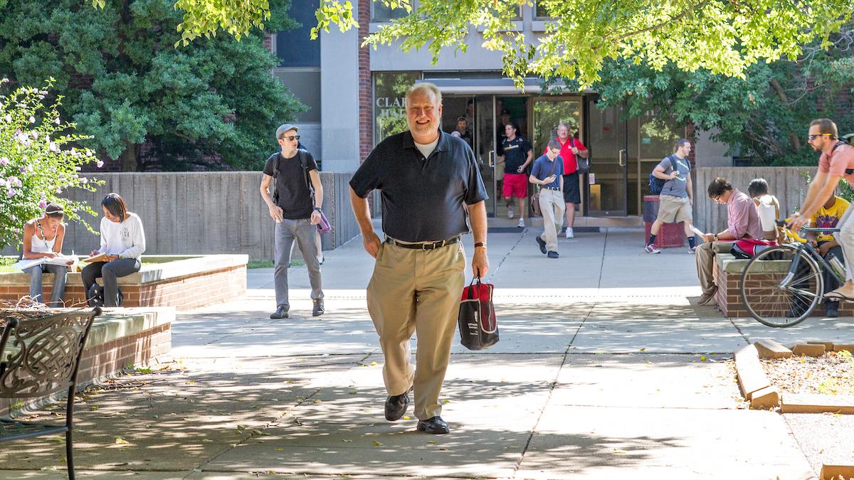 Professor Dave Robertson explains debate over partisan gerrymandering on KCUR