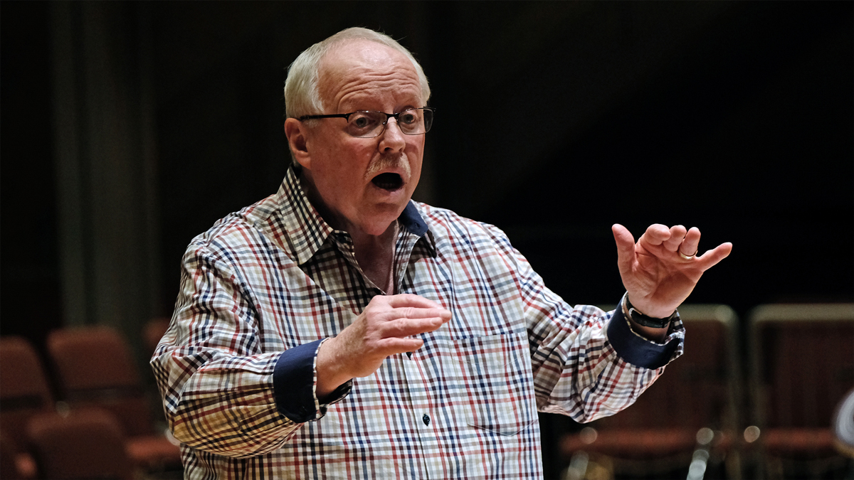 He's got rhythm: Jim Widner named Outstanding Jazz Educator for second time