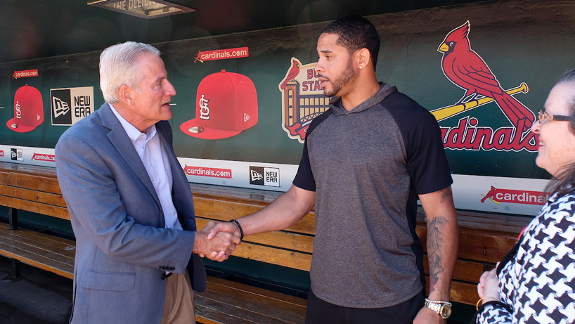 Bleacher Report spotlights Cardinals standout Tommy Pham – including UMSL professor's role in his success