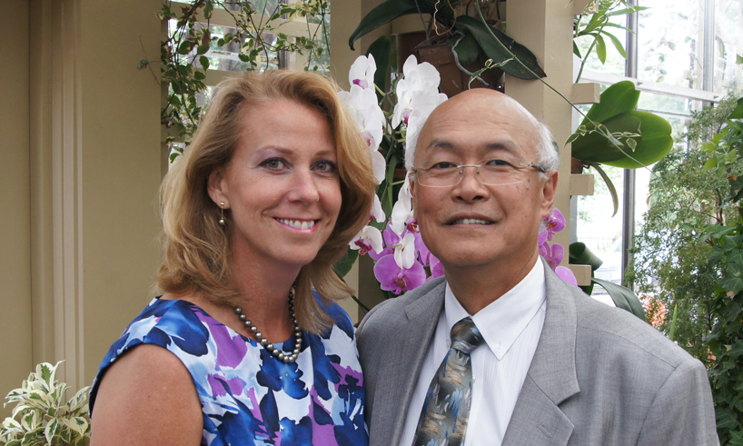 Chemistry alumni Bill and Dawn Shiang have advice for couples juggling two careers