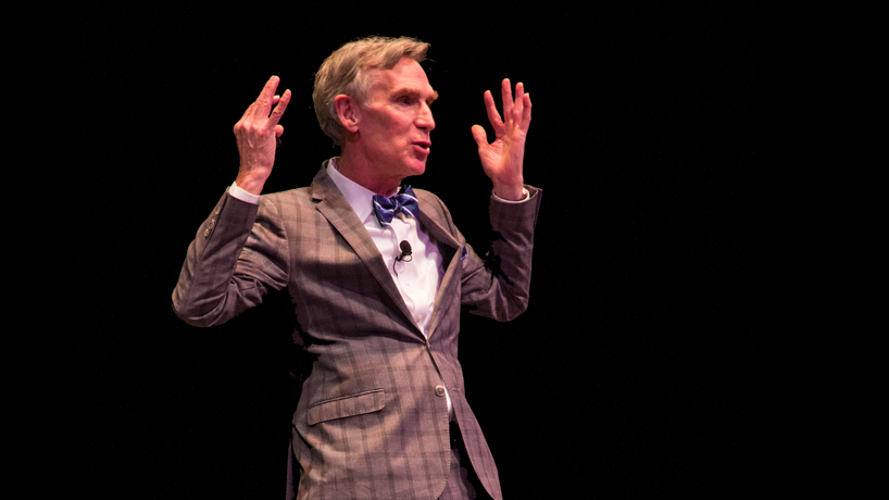 Science Guy Bill Nye beseeches UMSL students to 'Change the world'