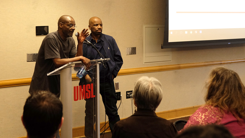 Joseph Amrine, Reggie Griffin share stories about years spent on death row for crimes they didn't commit