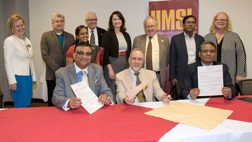 UMSL getting attention in India with upcoming launch of dual degree programs with Osmania University