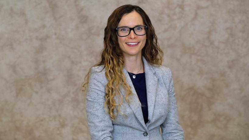 Assistant Professor Rachel Wamser-Nanney