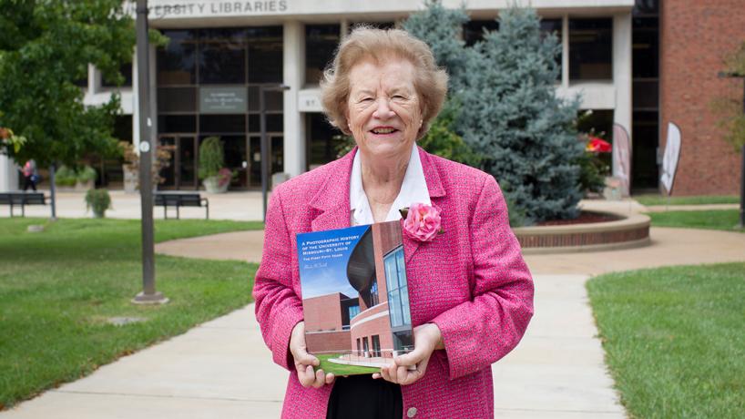 Ladue News spotlights Chancellor Emeritus Blanche M. Touhill