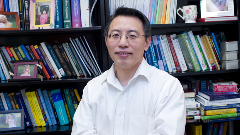 Haitao Li, associate professor of supply chain and analytics