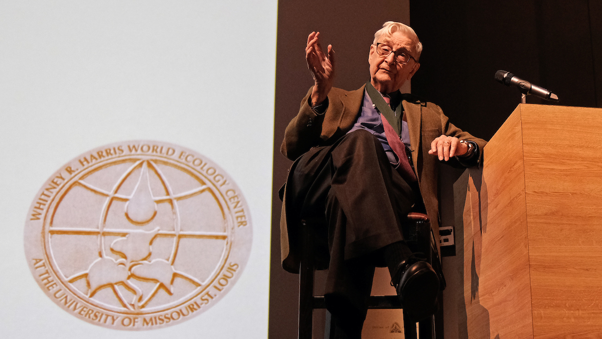 Renowned entomologist Edward O. Wilson receives World Ecology Award