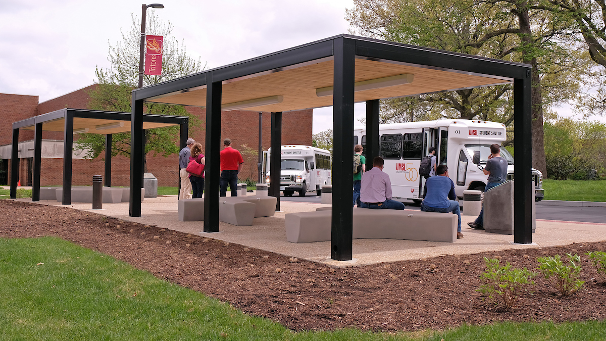 Improvements visible across UMSL campus, with more to come