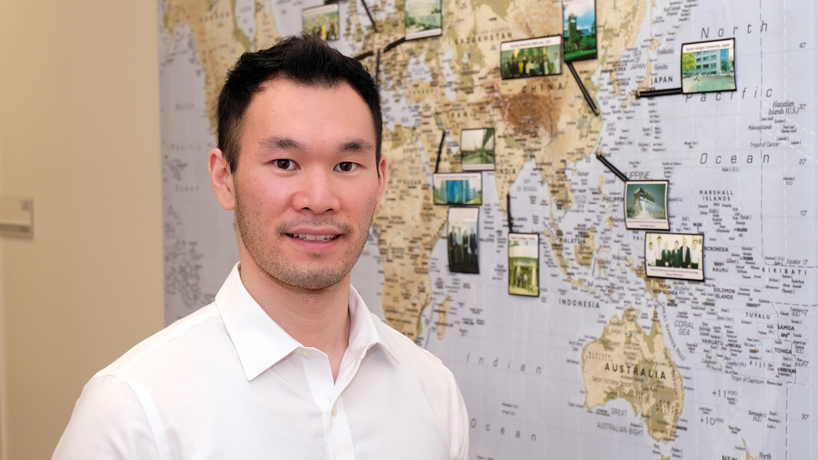 Korn-eak 'Pann' Thamrongwang finds 'life-changing experience' as UMSL MBA student