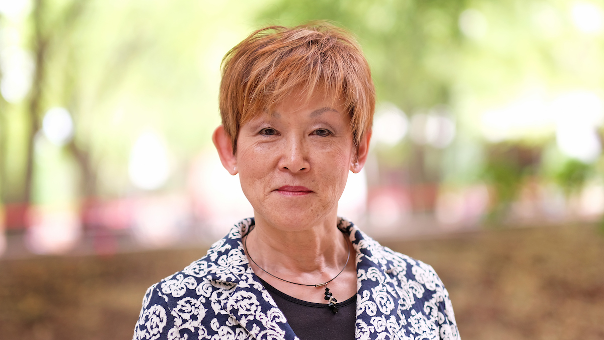 Associate Professor of Sociology Chikako Usui
