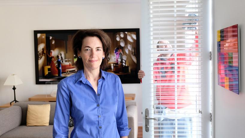 MFA alumna Sally Van Doren