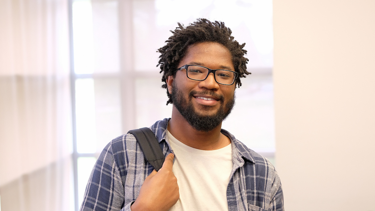 Changing course: Justin Weatherford-Pratt earns chemistry degree, plans to pursue PhD
