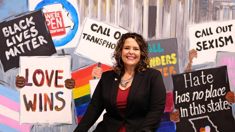 Social worker Elizabeth Fuchs follows a dream formulated at UMSL