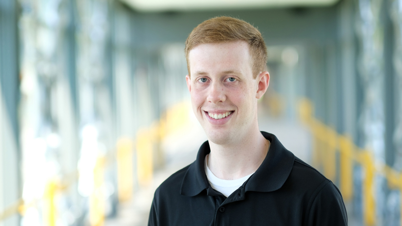 Information systems graduate Kyle Hopfer takes technological talents to Centene