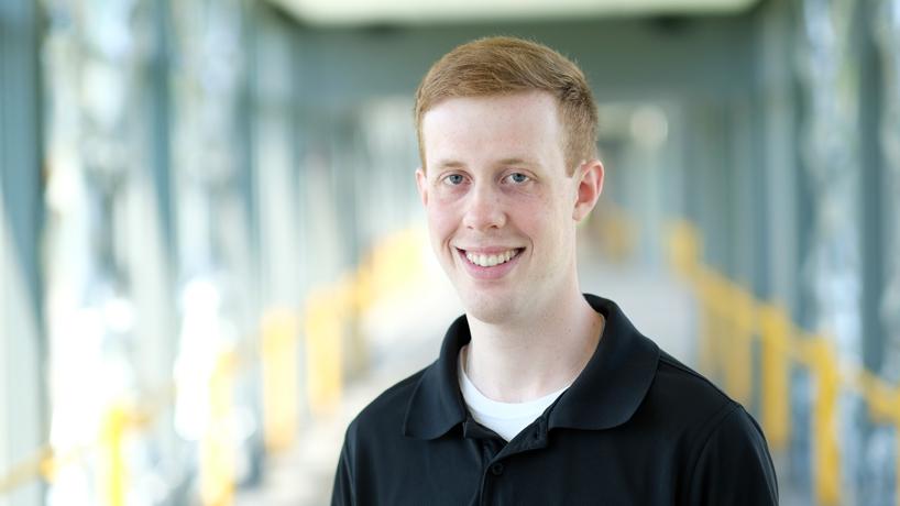 Kyle Hopfer, spring 2018 information systems graduate