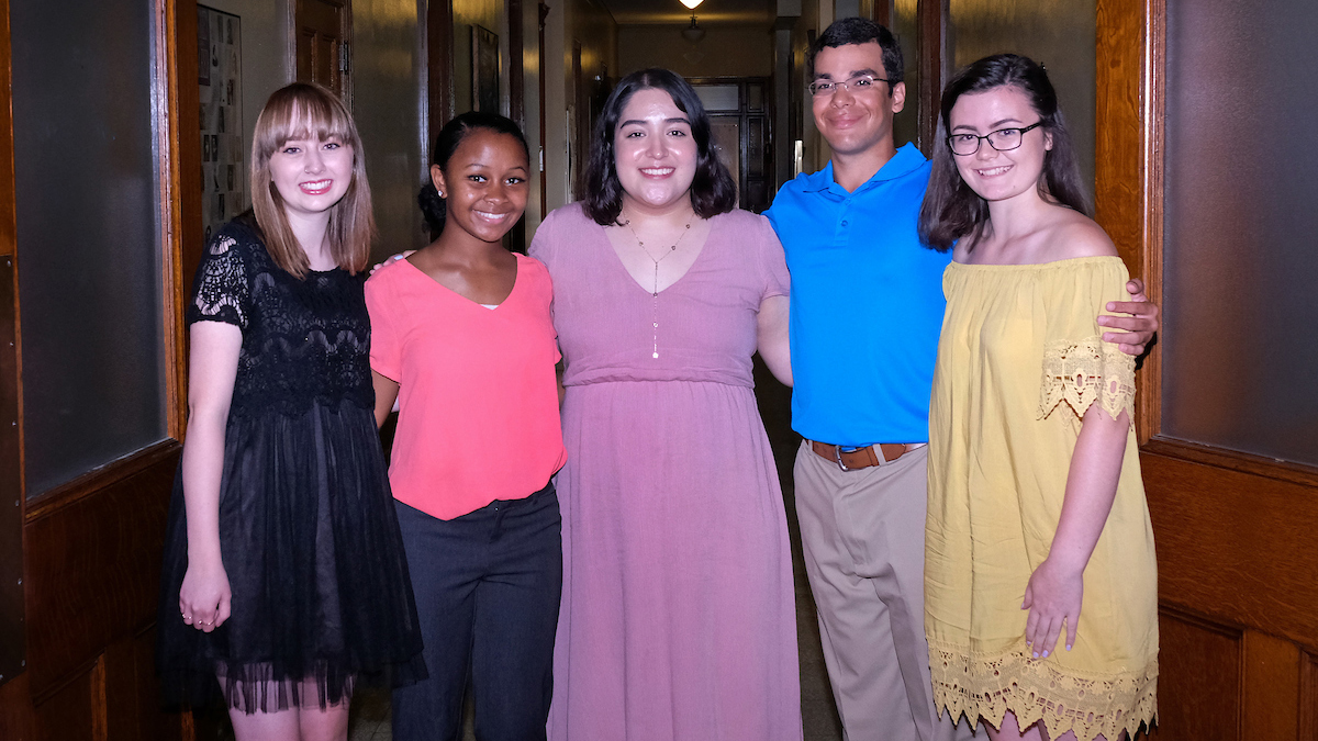 Eye on UMSL: Welcoming the newest Opportunity Scholars