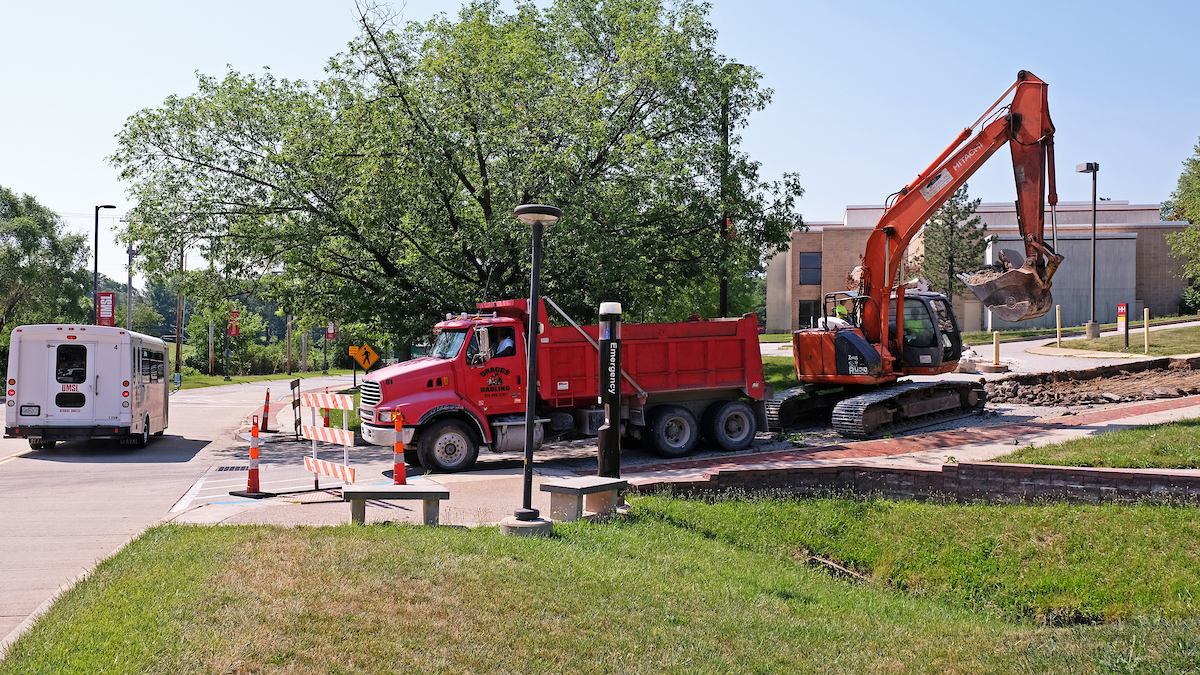 Weinman Way construction