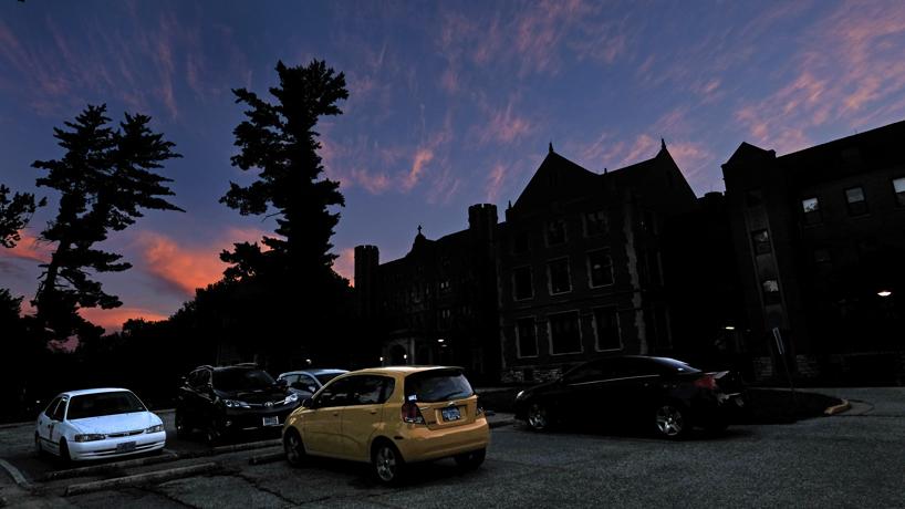 Eye on UMSL: Sunset on South Campus