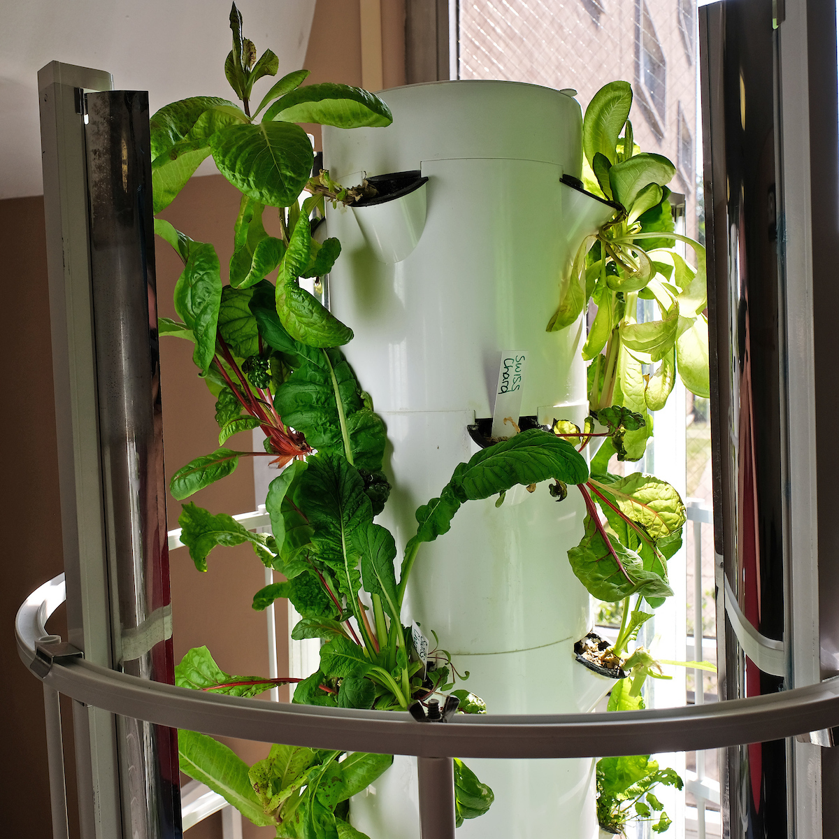 Aeroponic tower