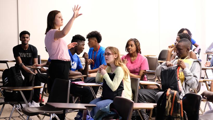 Mathematics Instructor Emily Knight
