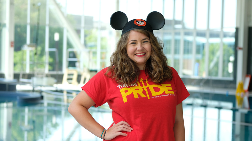 A crash course in customer service: Taylor 'DeeDee' Effinger experiences Disney magic in semester-long program