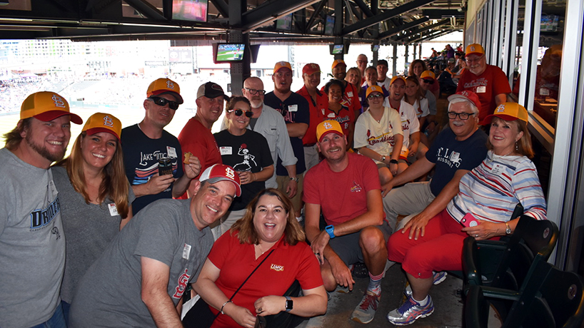 UMSL alumni gather in Denver to reminisce as they cheer on Cardinals
