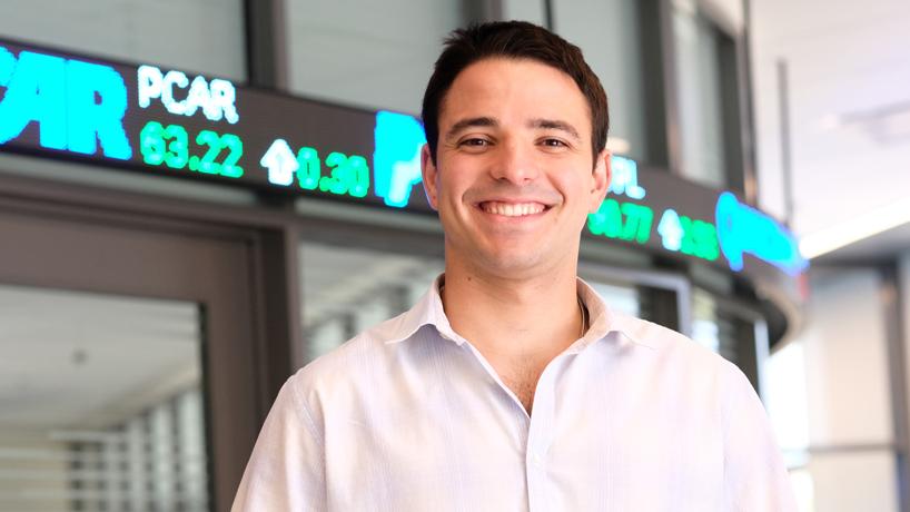 Extensive undergraduate involvement inspires Yaniv Dudaie's return to MBA program