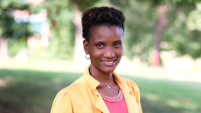 MBA student Annie Mbale