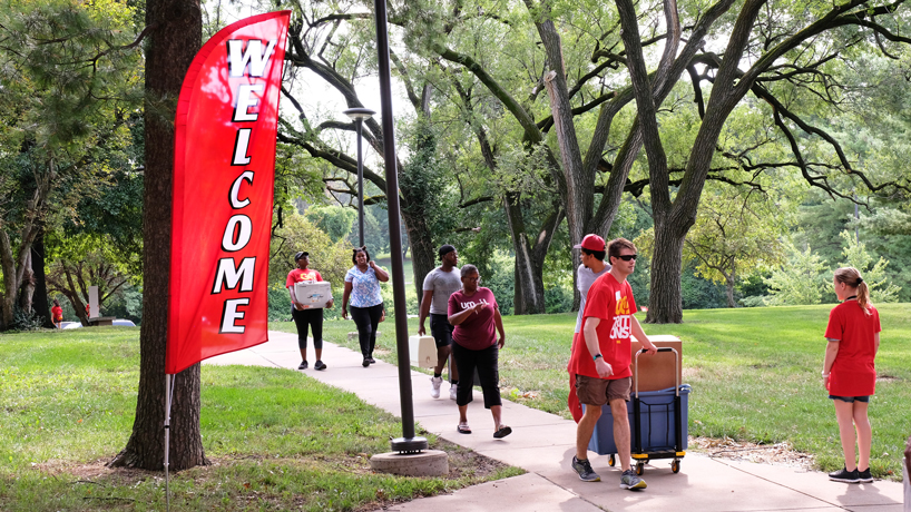 Welcome home: Scenes from Move-In Day 2018