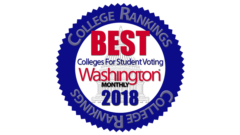 Washington Monthly lists UMSL among America's 'Best Colleges for Student Voting'