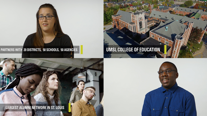 Colleges of Arts and Sciences, Education take center stage in UMSL marketing campaign