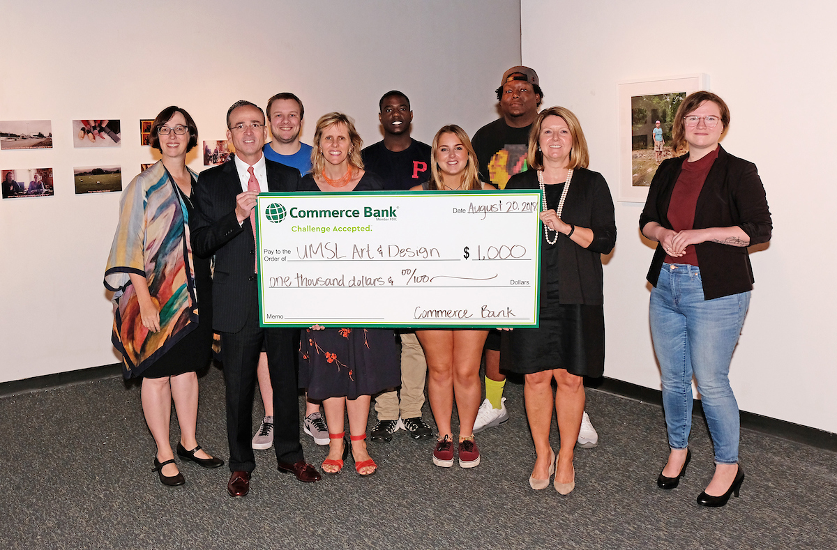 Commerce Bank, Art and Design donation